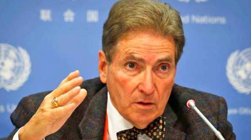 Former United Nations rapporteur Alfred de Zayas. File photo.