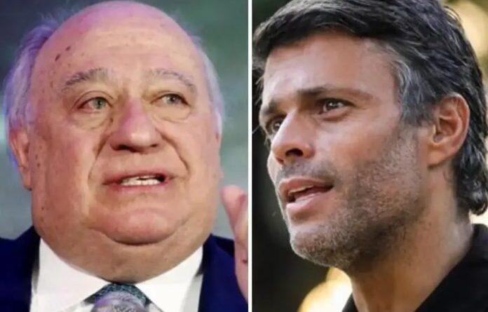 Humberto Calderon-Berti (left) and Leopoldo Lopez (right). File photo courtesy of RedRadioVE.
