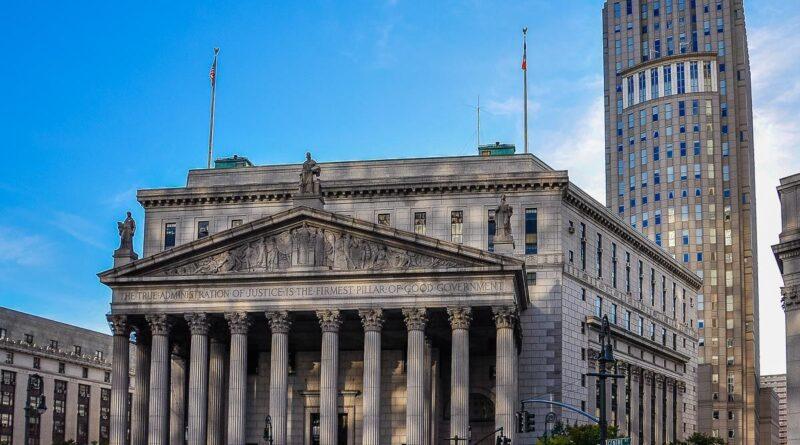 New York state, Supreme Court building. File photo.
