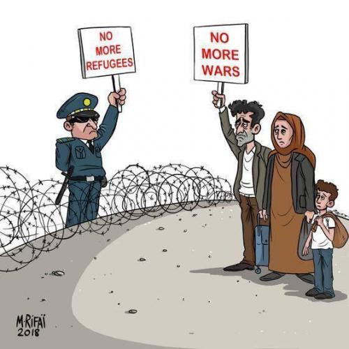 Refugees or victims?
