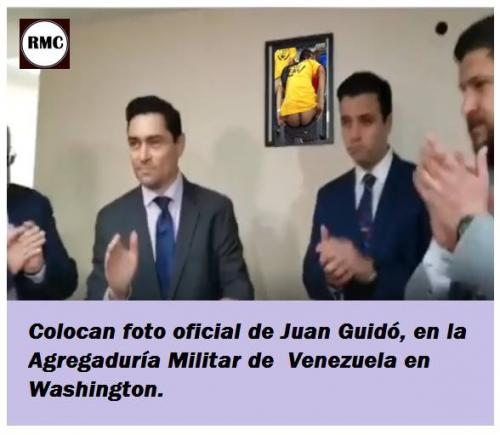 Official photo already hang in Guiados Embassy in DC